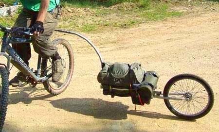 Современные прицепы для велосипедов. Oxtail (Воловий хвост).