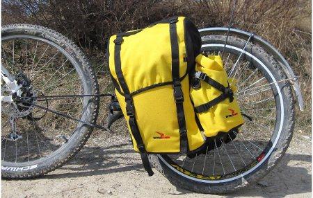 Современные прицепы для велосипедов. Extrawheel Classic.