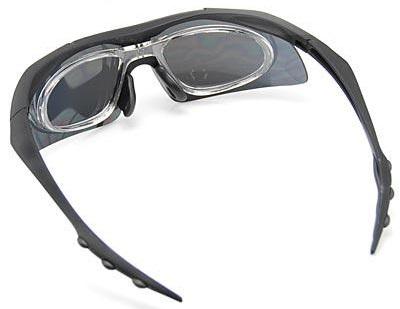 Велосипедные очки с диоптрической вставкой