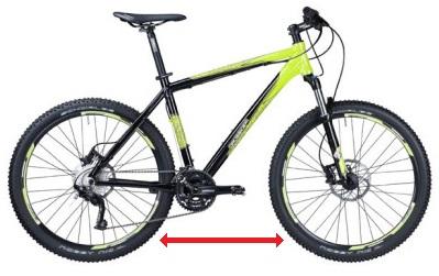 Перестановка покрышек велосипеда