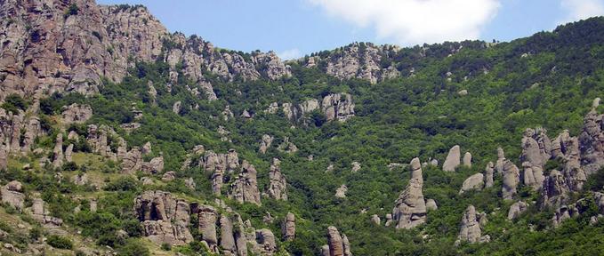 Пеший поход по Крыму - Через звезды к водопадам