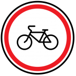 Езда на велосипеде по тротуарам