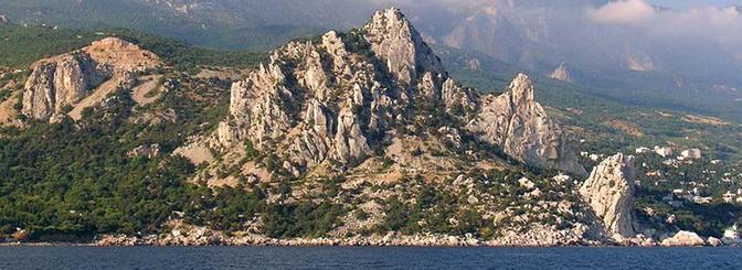 Долина привидений и Сатера - легкий поход по Крыму