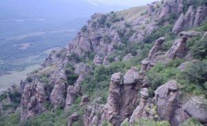 Пеший поход по горному Крыму - Долина Привидений