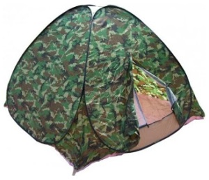 Самораскладывающаяся палатка для туристов