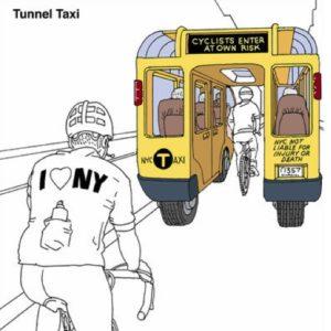 Туннельное такси для велосипеда