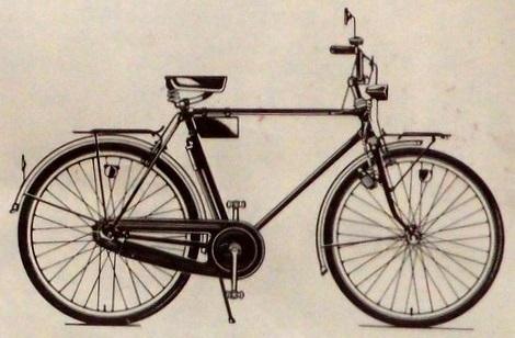 """Легкодорожный велосипед 111-422 """"Украина"""""""
