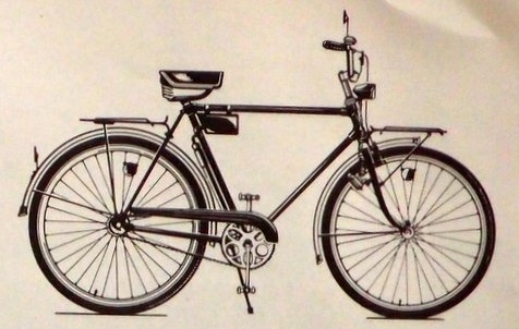 """Легкодорожный велосипед 111-421 """"Украина"""""""