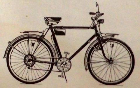 """Легкодорожный велосипед 111-423 """"Украина"""" люкс"""