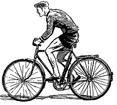 Правильно сидеть на велосипеде
