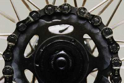 Износ звездочек и цепи велосипеда