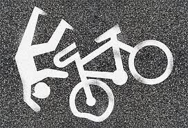 Причины падения с велосипеда