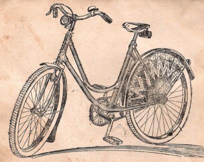 """Подростковый велосипед для девочек МВЗ В-82 """"Ласточка"""""""