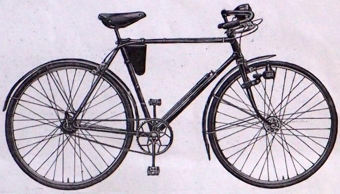 """Легкодорожный велосипед В-31 """"Турист"""""""