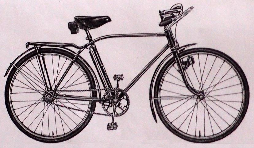 """Подростковый для мальчиков велосипед ХВЗ В-72 """"Орленок"""""""