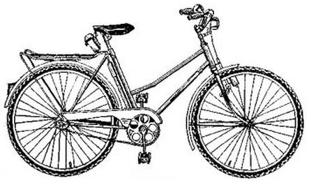 Подростковый велосипед для девочек В-811
