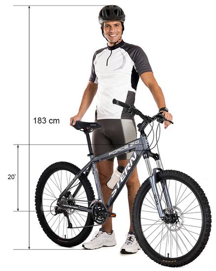 Как выбрать велосипед в зависимости от роста и веса