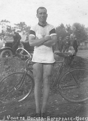 На велосипеде из армии в спорт - Заев И.И.