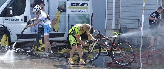 Можно ли мыть велосипед машинкой Karcher