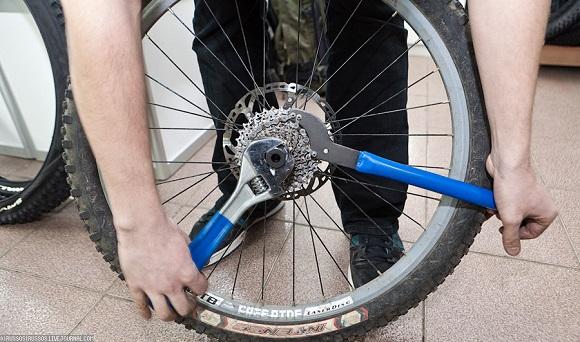 Спортивный велосипед ремонт своими руками 380