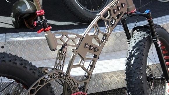 Велосипед из модулей Bees