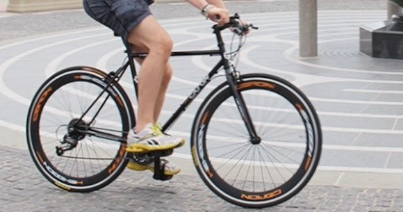 Фитнес велосипед Caron