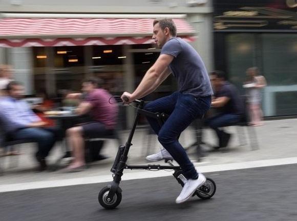 Электро мини велосипед A-Bike