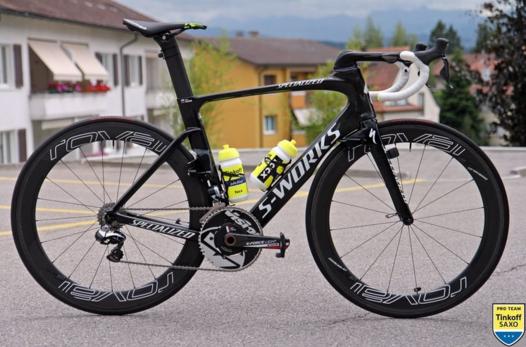 Новый велосипед от Specialized из аэродинамической трубы