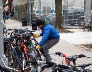 Воровство велосипедов в Дании