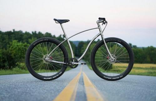 Велосипед из титана от конторы Budnitz