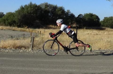 Flying Rider - велосипед без седла