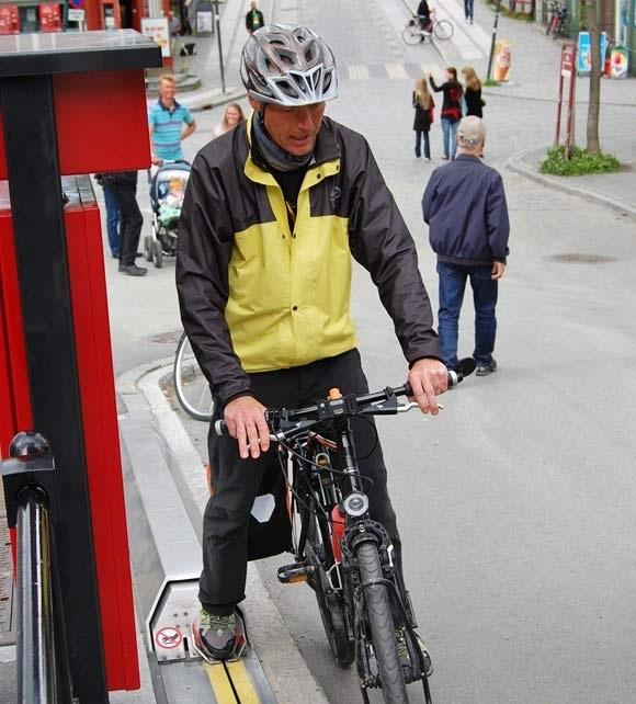 Подъемник Cyclo Cable для велосипедистов на крутых холмах
