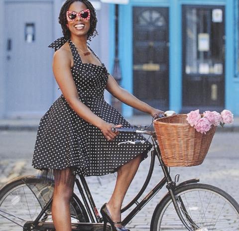 Стиль в одежде при езде на велосипеде