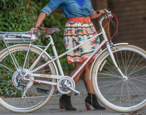 Классический велосипед Public