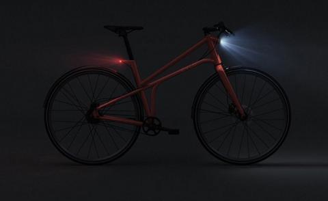 Велосипед CYLO 1 для города с стоп сигналом