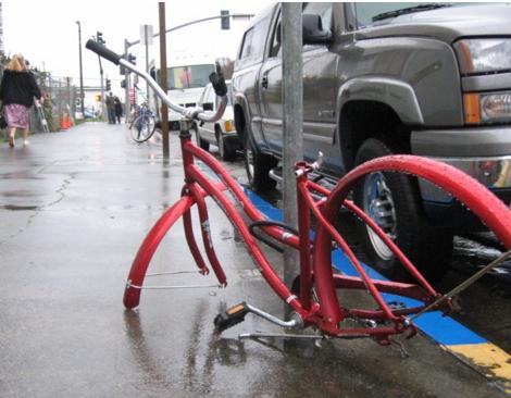 На Британских островах активизировались воры частей велосипедов