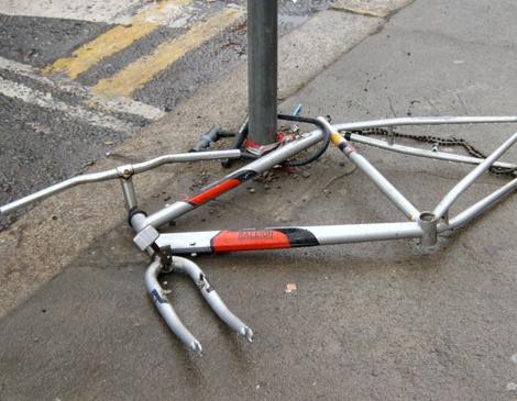 Как в Великобритании воруют велосипеды