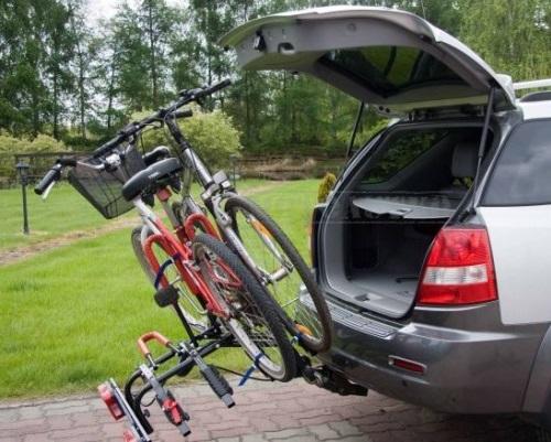 Транспортировка велосипеда на авто