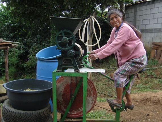 Велочистилка для кофейных зерен