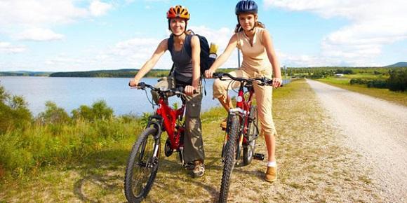 Велосипед для загородных прогулок