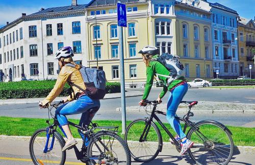 В Норвегии не жалеют денег на велосипедную инфраструктуру