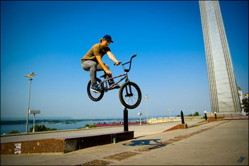BMX велоспорт