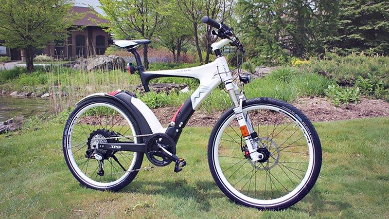 Не складывающийся складной велосипед