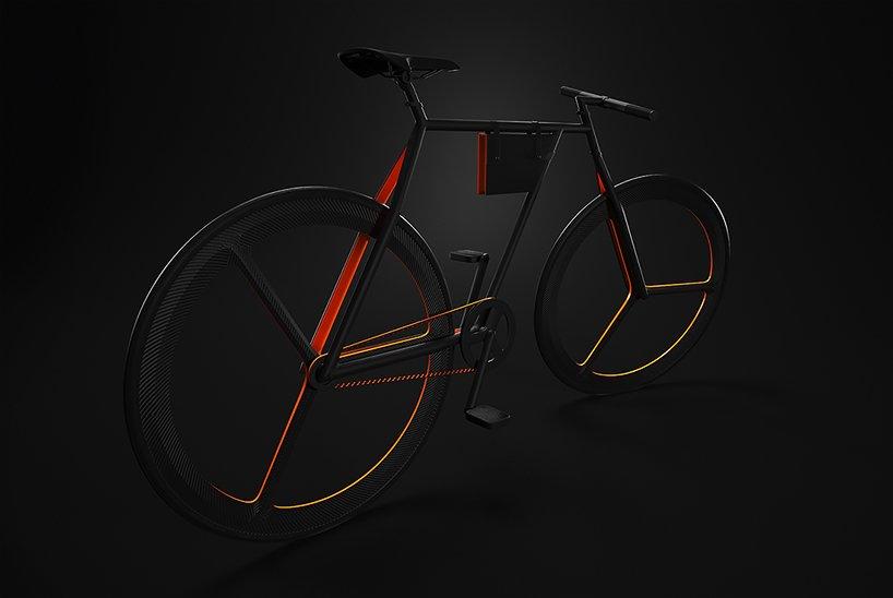Прекрасный дизайн велосипеда BAIK