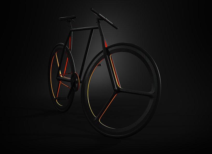 Симметрия и лаконичность в велосипеде BAIK