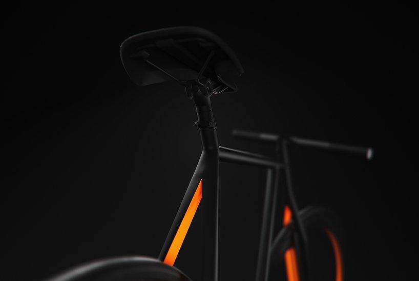 Прекрасный дизайн у велосипеда BAIK