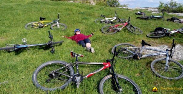 6 день велосипедного тура