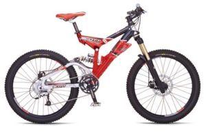 Велосипед для даунхилла(Downhill mountain biking)