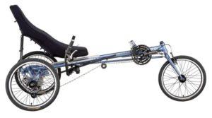 Лежачий велосипед, виды велосипедов, Recumbent bicycle