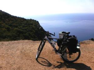 Одиночная поездка, один в велопоходе, велопоход для одного